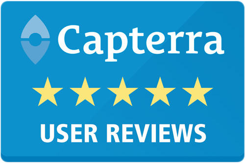 Capterra 5-star user reviews