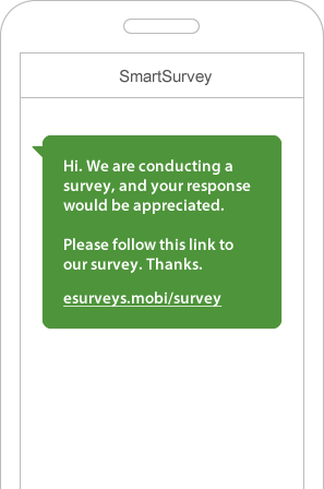 sms survey example