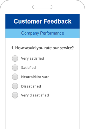 responsive survey example