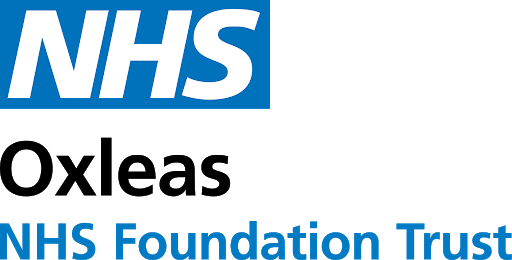 Oxleas NHS Foundation Trust logo.